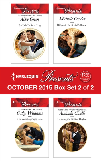 Harlequin Presents October 2015 - Box Set 2 of 2 - An Anthology 電子書 by Abby Green,Cathy Williams,Michelle Conder,Amanda Cinelli