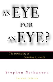 anna quindlen death penalty s false promise an eye for an eye Anna quindlen culture of rudy giulianiever since the presidency was a mere gleam in his eye things are illegal there's a penalty attached, he explains.