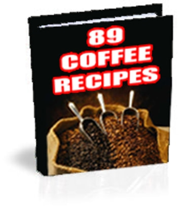 89 Coffee Recipies ebook by Sven Hyltén-Cavallius