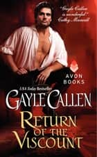 Return of the Viscount ebook by Gayle Callen