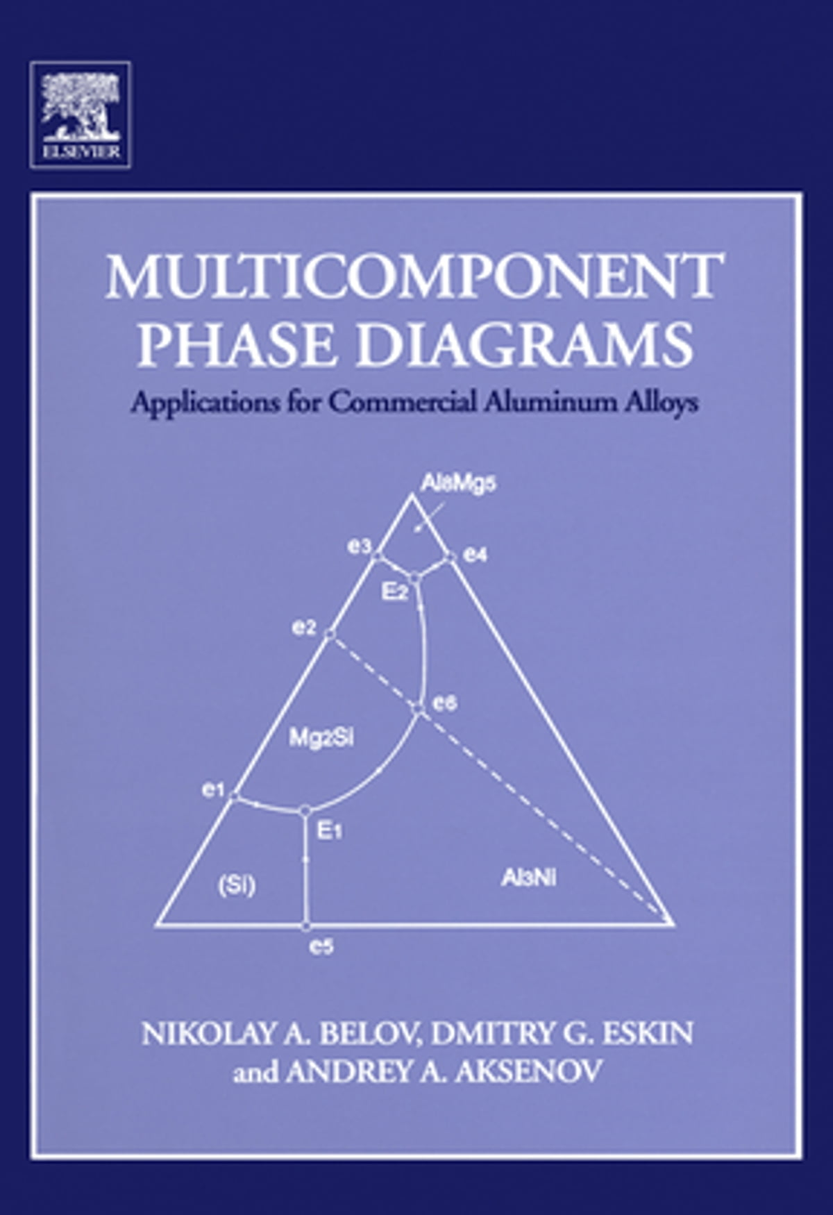 Multicomponent Phase Diagrams  Applications For Commercial Aluminum Alloys Ebook By Nikolay A