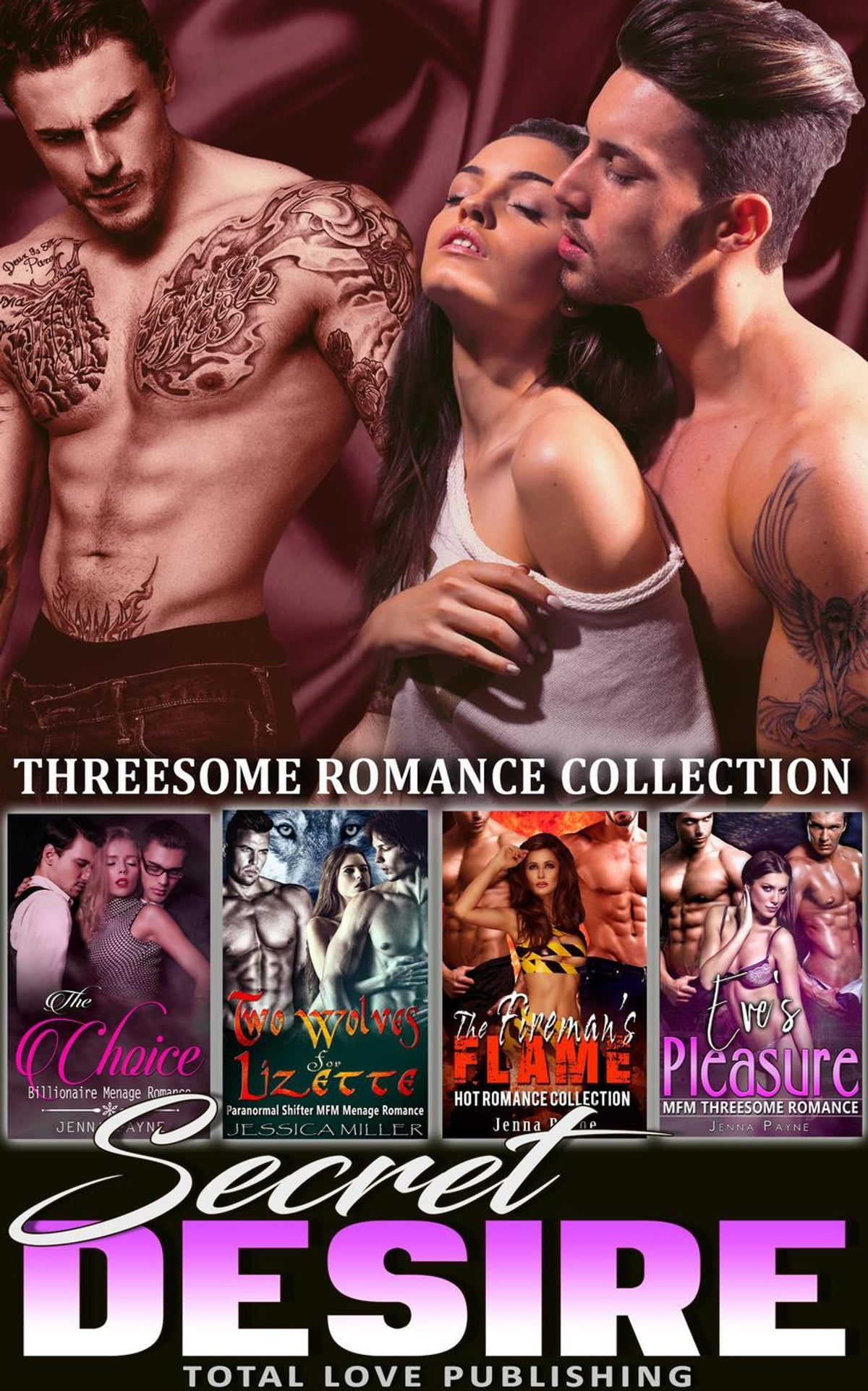 Secret Desire Threesome Romance Collection Ebook By Jenna Payne
