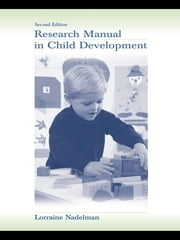 Research Manual in Child Development ebook by