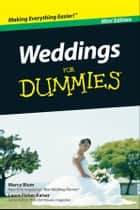 Weddings For Dummies, Mini Edition eBook by Marcy Blum, Laura F. Kaiser