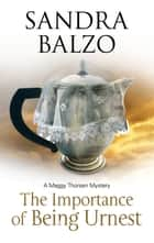 Importance of Being Urnest - A coffee house cozy ebook by Sandra Balzo