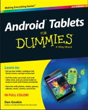 Android Tablets For Dummies ebook by Dan Gookin