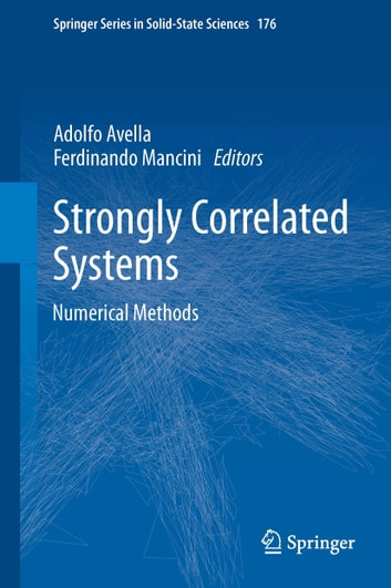 Strongly Correlated Systems - Numerical Methods ebook by