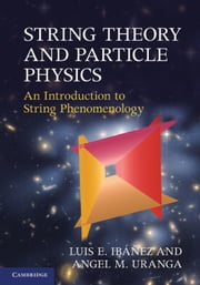 String Theory and Particle Physics - An Introduction to String Phenomenology ebook by Luis E. Ibáñez,Angel M. Uranga