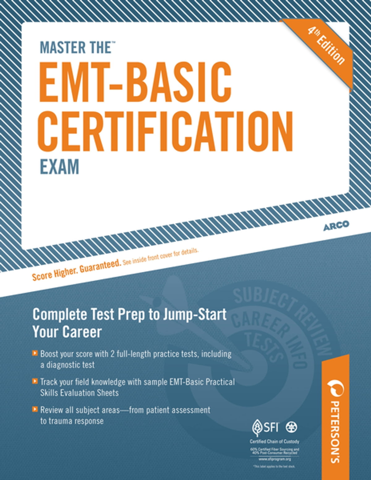 Master The Emt Basic Certification Exam Ebook By Petersons