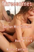 Threesomes: Boxed Set: Books Four, Five And Six ebook by Reese Cantwell