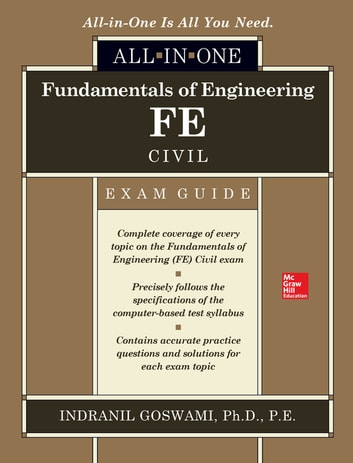 Fundamentals of engineering fe civil all in one exam guide ebook by fundamentals of engineering fe civil all in one exam guide ebook by indranil goswami fandeluxe Gallery
