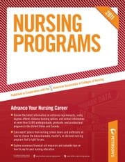 Nursing Programs 2011 ebook by Peterson's
