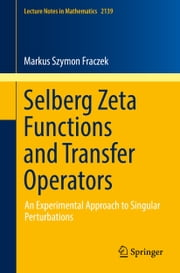 Selberg Zeta Functions and Transfer Operators - An Experimental Approach to Singular Perturbations ebook by Markus Szymon Fraczek