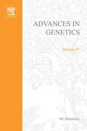 Advances in Genetics ebook by Demerec, M.