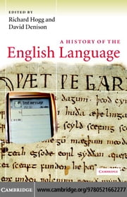 A History of the English Language ebook by Hogg, Richard M.
