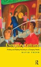 Everyday Culture ebook by David Trend