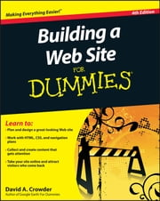 Building a Web Site For Dummies ebook by Kobo.Web.Store.Products.Fields.ContributorFieldViewModel