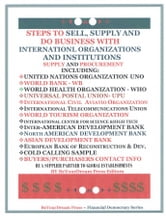 Steps To Sell, Supply and Do Business With International Organizations and Institutions ebook by Obi Orakwue