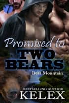 Promised to Two Bears ebook by Kelex