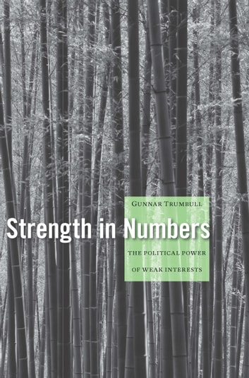 Strength in Numbers - The Political Power of Weak Interests ebook by Gunnar Trumbull