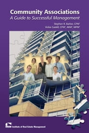 Community Associations - A Guide to Successful Management ebook by Stephen Barber,Vicki Gaskill