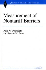Measurement of Nontariff Barriers ebook by Alan Verne Deardorff,Robert Mitchell Stern