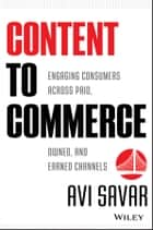 Content to Commerce ebook by Avi Savar