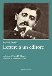 Lettere a un editore ebook by Marcel Proust