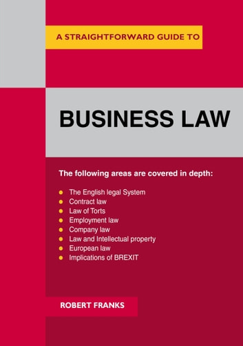 Business Law ebook by Robert Franks