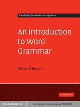 An Introduction to Word Grammar ebook by Richard Hudson