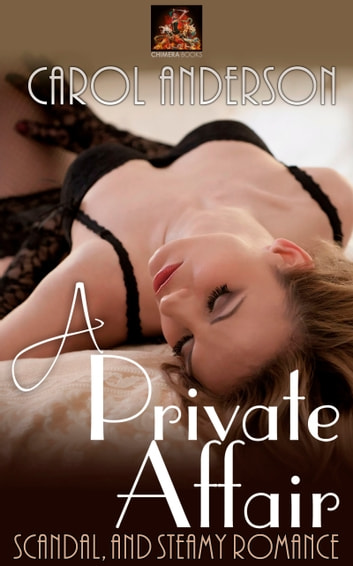 A Private Affair ebook by Carol Anderson
