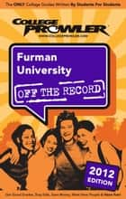 Furman University 2012 ebook by Tenell Felder
