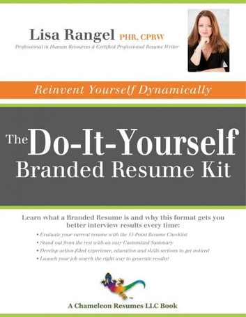The do it yourself branded resume kit ebook by lisa rangel the do it yourself branded resume kit ebook by lisa rangel fandeluxe Image collections