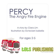 Percy the Angry Fire Engine ebook by TotsPublishing