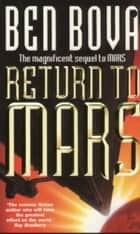 Return to Mars ebook by Ben Bova