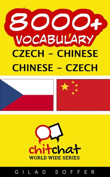 8000+ Vocabulary Czech - Chinese ebook by Gilad Soffer