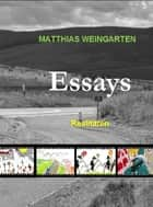 Essays - Realitäten ebook by