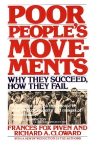 Poor People's Movements - Why They Succeed, How They Fail ebook by Frances Fox Piven,Richard Cloward