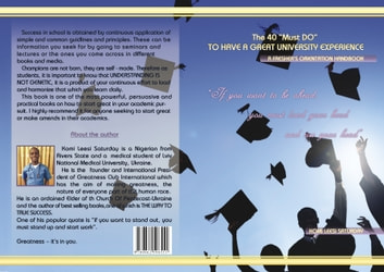 "The 40 ""Must Do"" TO HAVE A GREAT UNIVERSITY EXPERIENCE ebook by Leesi Komi"