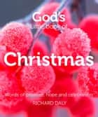 God's Little Book of Christmas: Words of promise, hope and celebration ebook by Richard Daly