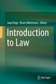 Introduction to Law ebook by Jaap Hage,Bram Akkermans