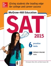 McGraw-Hill Education SAT 2015 ebook by Christopher Black,Mark Anestis