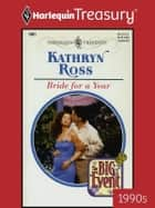 Bride For a Year ebook by Kathryn Ross