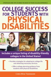College Success for Students With Physical Disabilities ebook by Prufrock Press