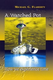 A Watched Pot - How We Experience Time ebook by Michael G. Flaherty