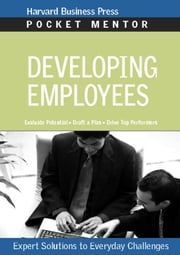 Developing Employees ebook by Harvard Business School Press