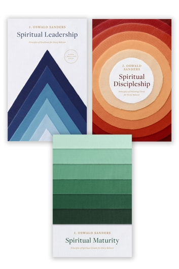 Spiritual Leadership, Spiritual Discipleship, Spiritual Maturity Set of 3 Sanders books ebook by J. Oswald Sanders