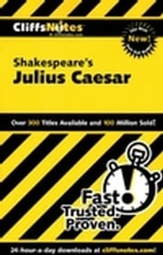 CliffsNotes on Shakespeare's Julius Caesar ebook by James E Vickers,Martha Perry