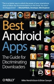 Best Android Apps ebook by Mike Hendrickson, Brian Sawyer