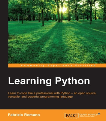 Learning Python ebook by Fabrizio Romano